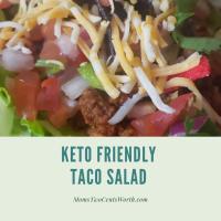 Keto-Friendly Taco Salad Recipe