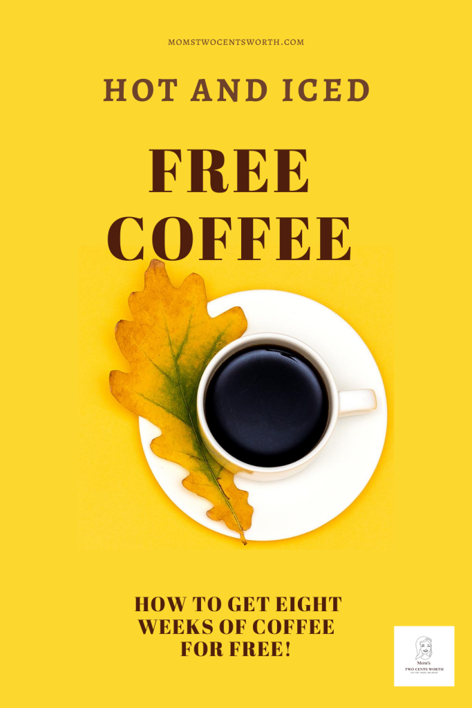 Love coffee?  How about eight weeks of free hot and iced coffee?  Find out how here!  #Coffeeclub #coffeelover #hotcoffee #icedcoffee #freecoffee