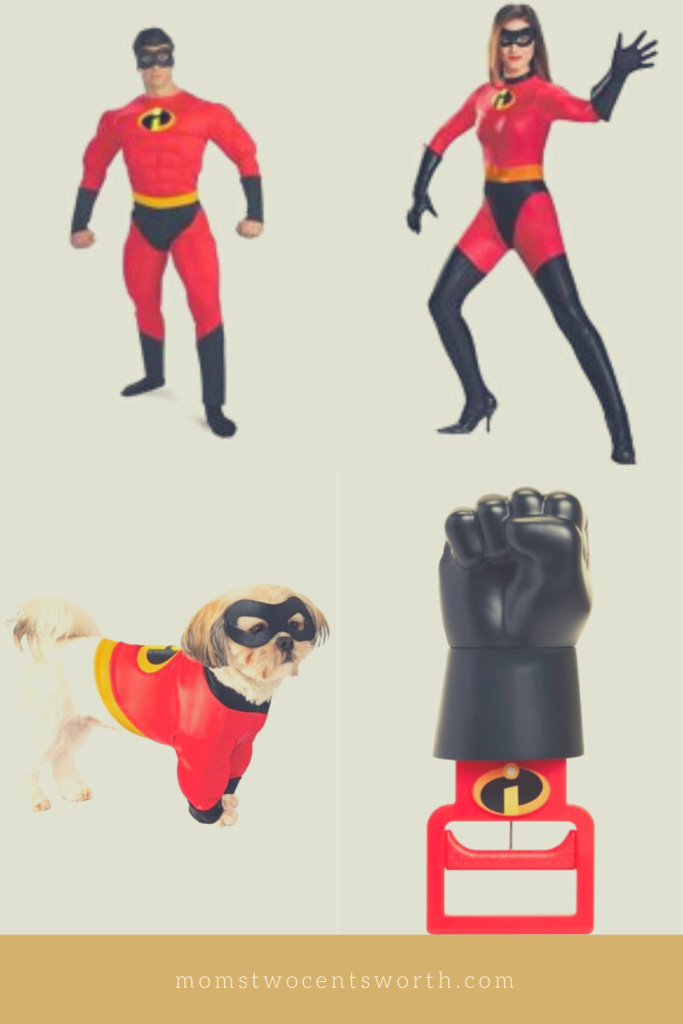 7 Disney family-themed costume ideas that will add some magic to your Halloween celebration! Show your family's strength dressed as the Incredibles!  #adultcostumes #childrencostumes #petcostumes