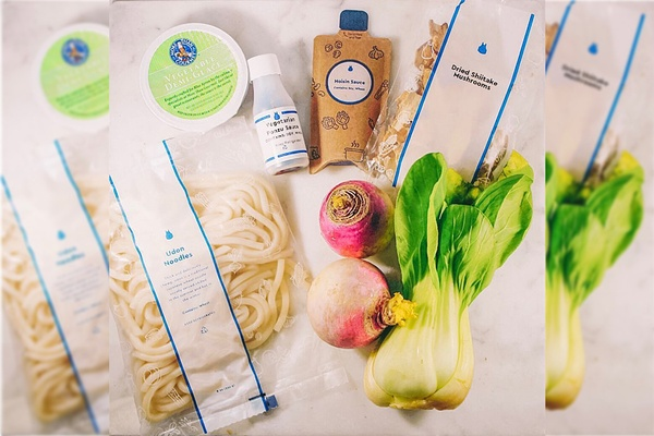 Explore new recipes and improve your cooking skills with preportioned meal kits from Blue Apron.