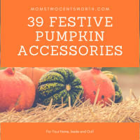 39 Festive Pumpkin Accessories for Your Home