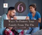 Are you prepared for flu season? 😷 This mom shares 6 ways she plans to protect her family this flu and cold season!