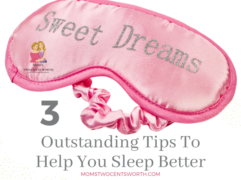 This mom shares three sleep tips 😴 that will help you sleep better, starting tonight!!