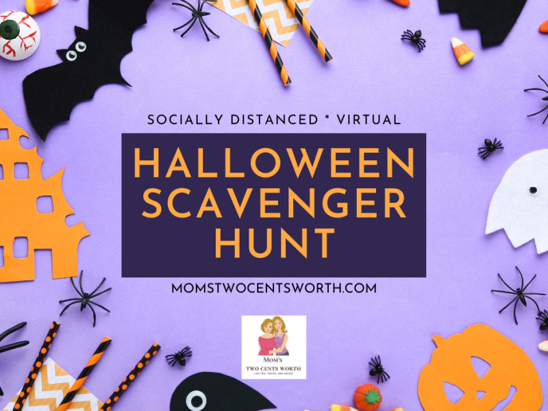 Looking for a safe way to celebrate Halloween 2020? Look no further as our mom Cynthia has the perfect socially distanced solution! Learn how to host a virtual scavenger hunt for all of your friends and family.